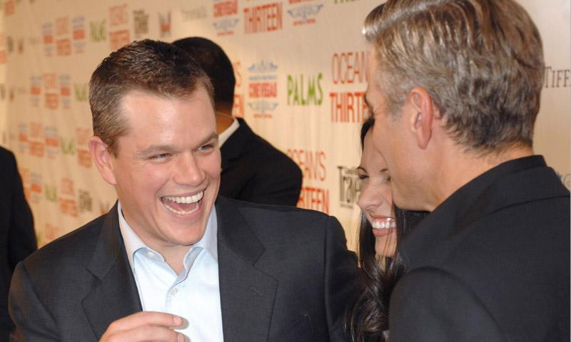 La reacción de Matt Damon cuando Clooney le dijo que iba a ser papá: '¿Estás loco? ¡No se lo cuentes a nadie más!'