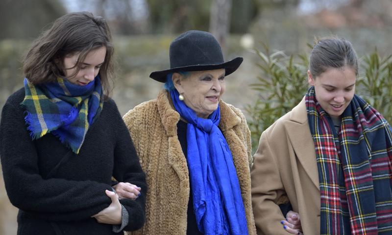 Primeras palabras de Lucía Bosé tras la muerte de su nieta Bimba