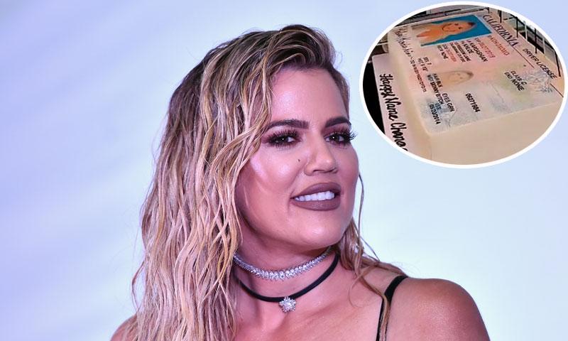 Khloé Kardashian celebra con pastel incluido haber quitado de su nombre el apellido Odom