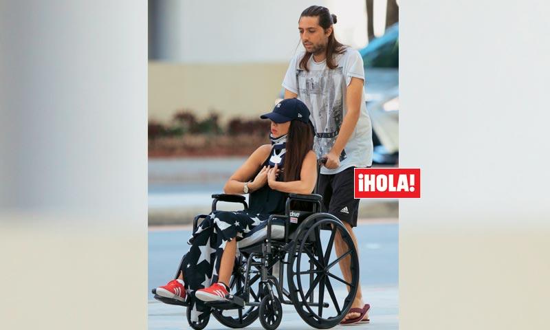 En ¡HOLA!, las impactantes imágenes de Sara Verdasco tras su accidente
