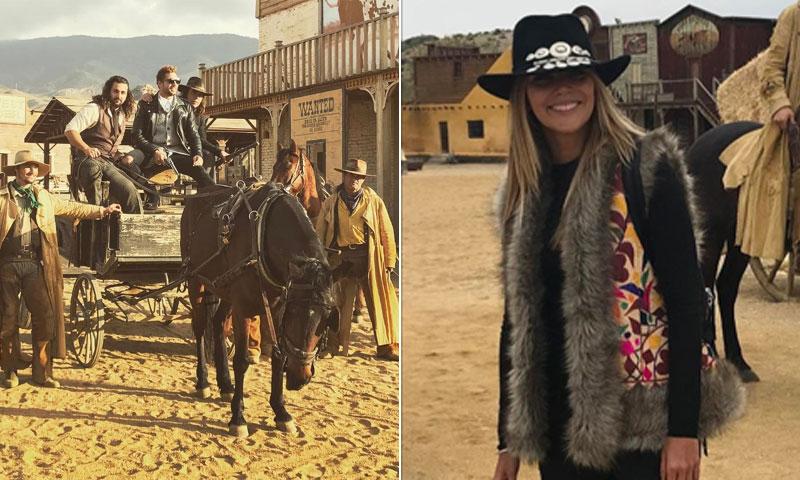¡Al más puro estilo western! Así celebra David Bisbal y su familia el cumpleaños de Ella