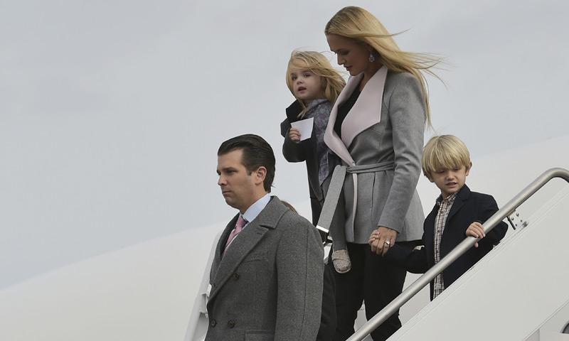 Los Trump también visten a sus pequeños con moda infantil 'Made in Spain'