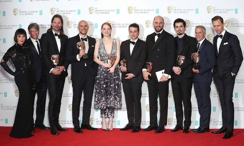 La lista completa de los ganadores de los BAFTA