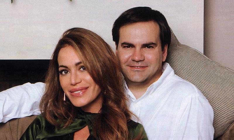 Gema Ruiz y Juan Díaz, padres de su segundo hijo, un niño llamado Juan