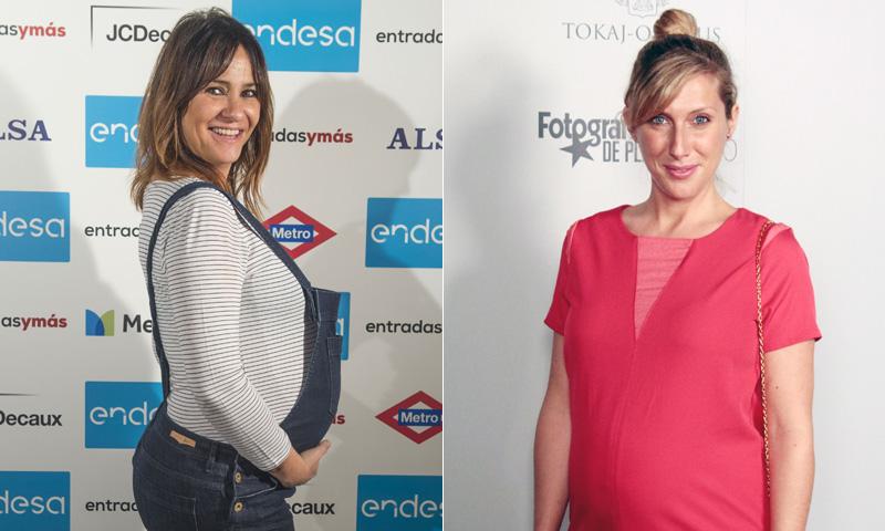 Melani Olivares y Cecilia Freire, dos actrices en la recta final de su embarazo