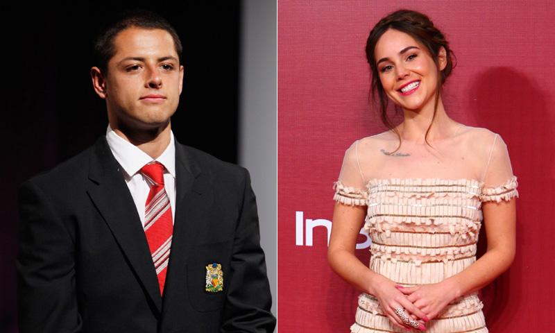 'Chicharito' grita su amor por Camila Sodi