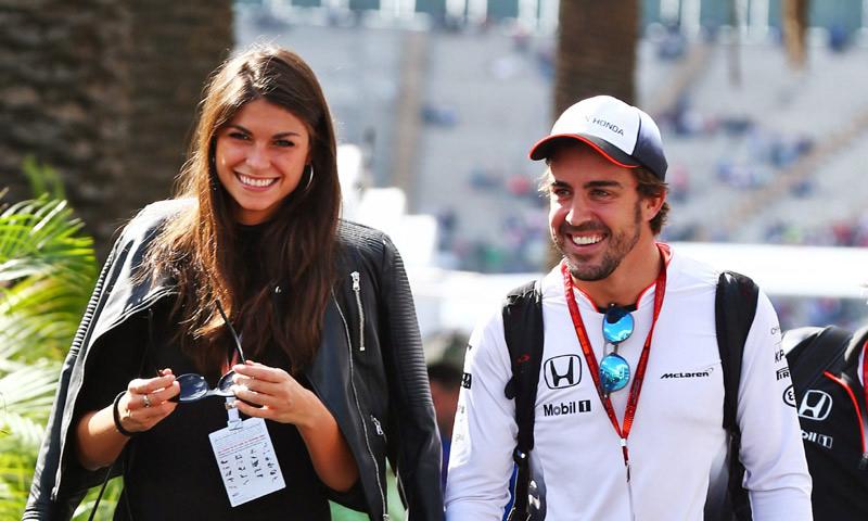 Fernando Alonso y Linda Morselli, una relación que se consolida