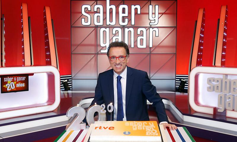 Un infatigable Jordi Hurtado celebra 20 años de 'Saber y Ganar'