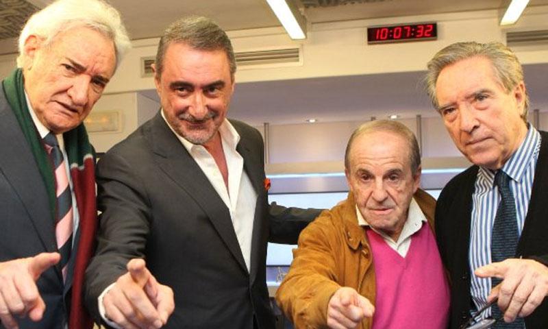 ¡Día histórico en las ondas! Herrera, Olmo, Gabilondo y García juntos