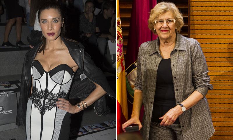 La divertida conversación entre Pilar Rubio y Manuela Carmena sobre corsés