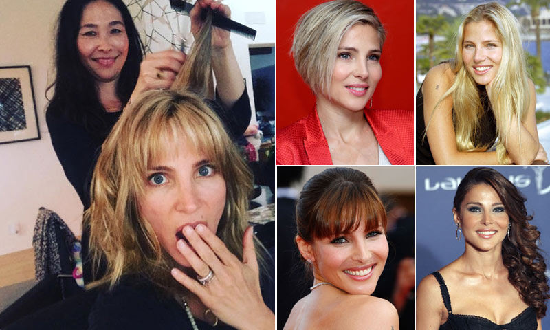 Elsa Pataky estrena nuevo 'look': te lo mostramos y repasamos sus cambios de imagen