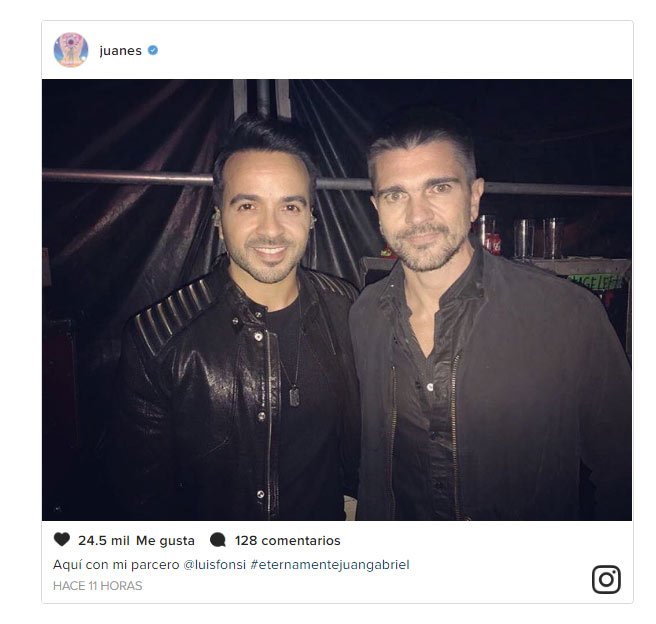 ¿Cuánto mide Luis Fonsi? - Estatura real: 1,71 - Real height Jgabriel1-a