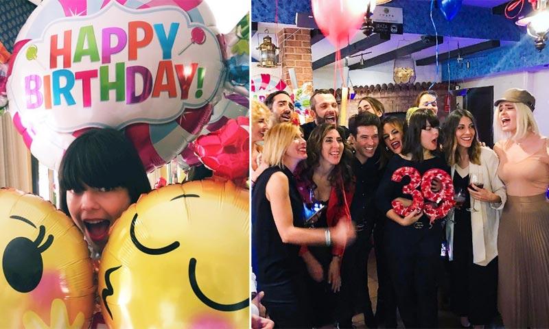 La divertida y televisiva fiesta de Laura Caballero, creadora de 'La que se avecina'