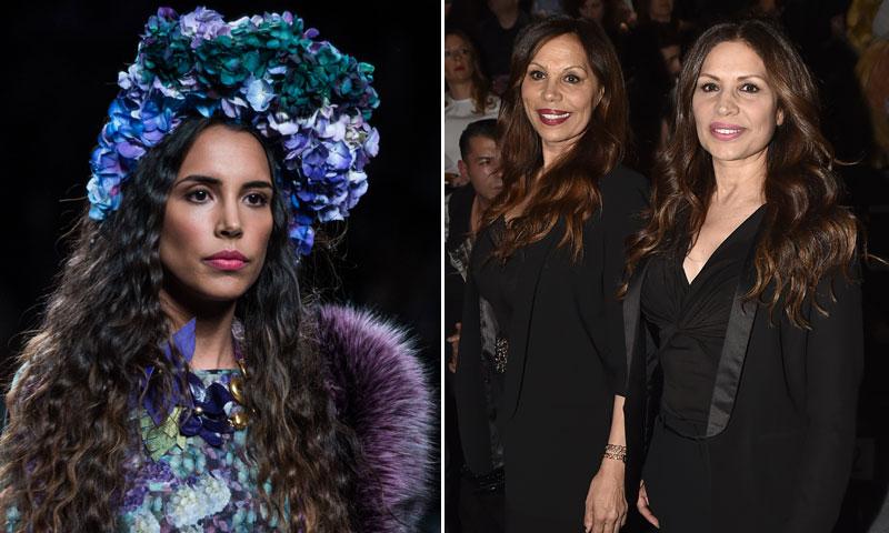 Carolina, hija de Encarna Salazar (Azúcar Moreno), debuta como modelo en la Fashion Week Madrid
