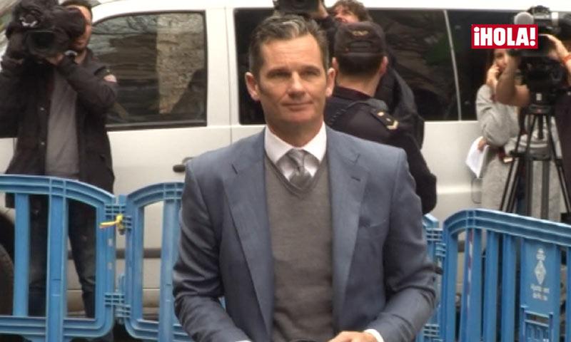 Iñaki Urdangarin: del gesto de preocupación al de satisfacción tras pasar por el juzgado