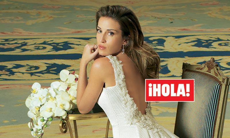 En ¡HOLA!, Marta Castro lo cuenta todo sobre su 'bodón' con Fonsi Nieto