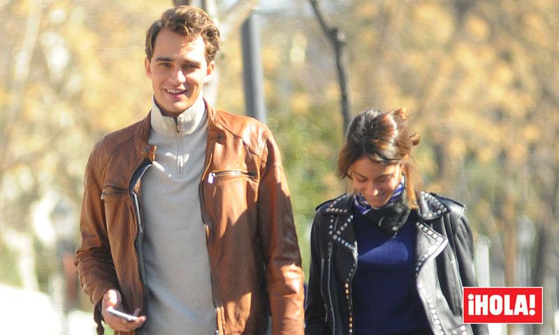 En ¡HOLA! Tini Stoessel y Pepe Barroso Jr., dos enamorados en Madrid