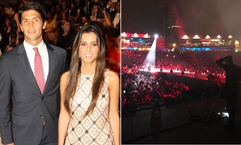 Ana Boyer y Fernando Verdasco, los fans más entregados de Enrique Iglesias