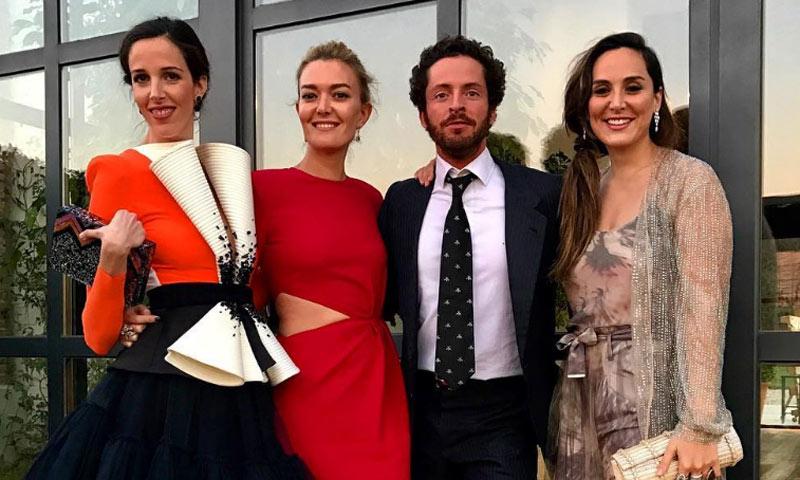 Marta Ortega y Tamara Falcó coinciden en una boda