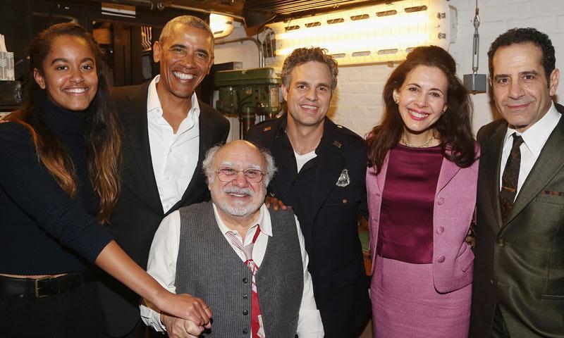 Tardes de teatro, sesiones de ejercicio... la vuelta a la normalidad de la familia Obama
