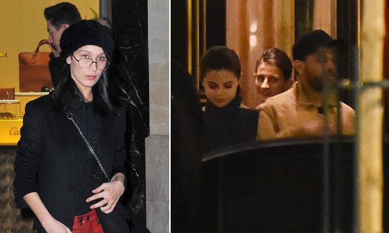 The Weeknd, escapada a París con su novia Selena Gomez... y ¡su ex Bella Hadid también estaba allí!