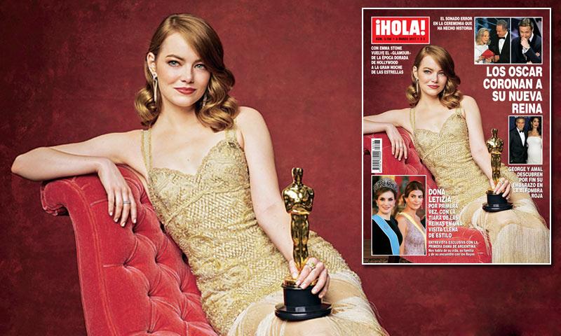 En ¡HOLA!, los Oscar coronan a su nueva reina: Emma Stone