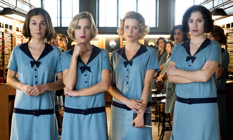 blanca suárez y el resto de 'las chicas del cable' en berlín, ¿qué