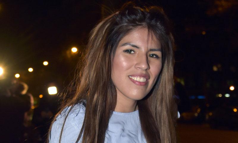 La madre biológica de Isa asiste al concierto de Isabel Pantoja en Perú