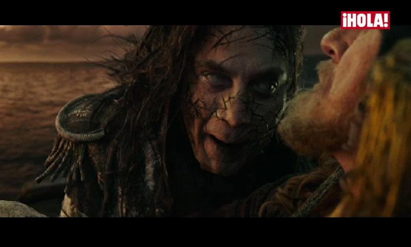 Un Javier Bardem monstruoso y protagonista domina el trailer de 'Piratas del Caribe'