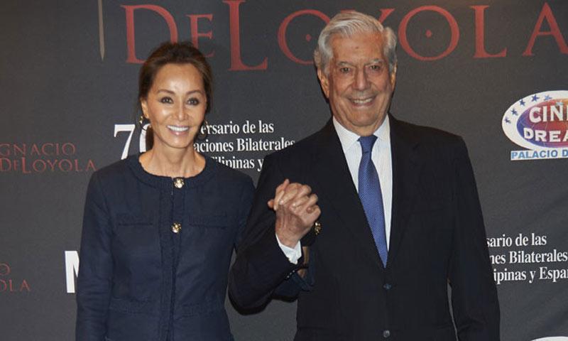 Isabel Preysler y Mario Vargas Llosa disfrutan de una romántica tarde de cine