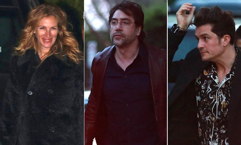 ¡Cómo se lo pasa Javier Bardem en Los Ángeles! Ahora en el cumple de Chris Martin con Orlando Bloom, Julia Roberts, Beyoncé...