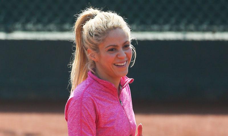 Shakira, reina del baile y también... de las pistas