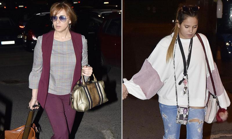Ana María Aldón y Gloria Camila, muy pendientes de Ortega Cano, hospitalizado debido a un problema cardíaco