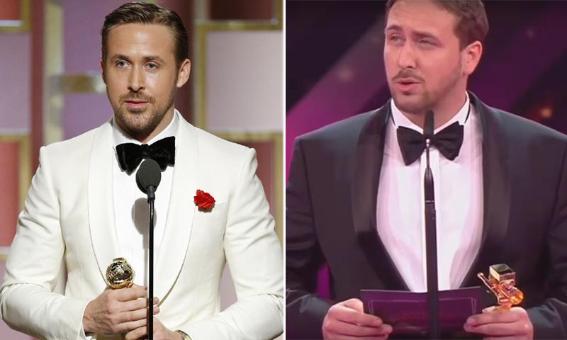 ¡Tú no eres Ryan Gosling! Así engañó a todos su inesperado 'gemelo'