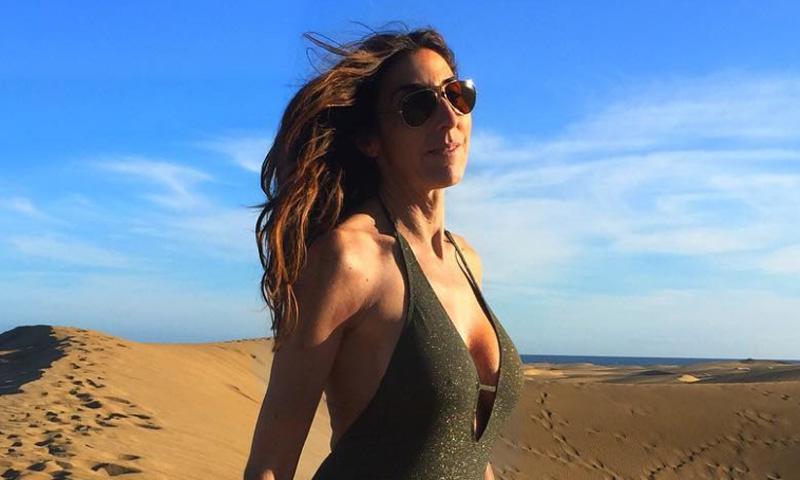 Paz Padilla se adelanta al verano con un espectacular posado en la playa