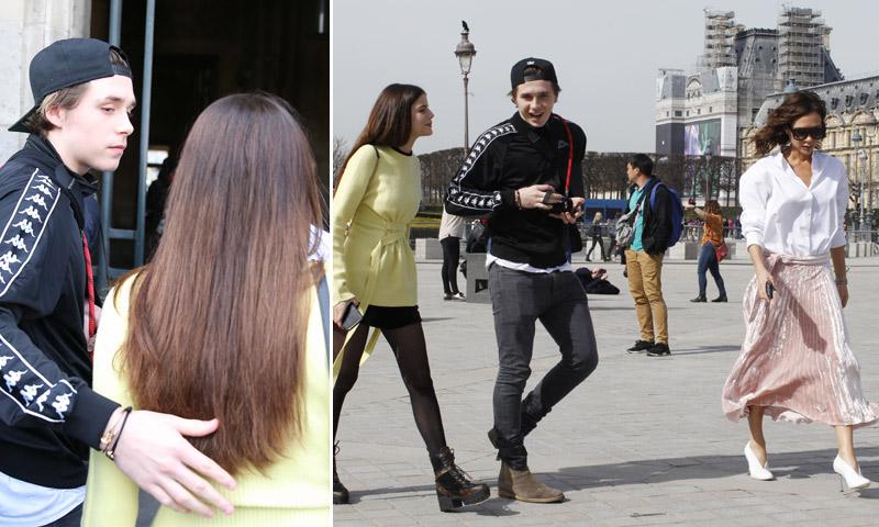Brooklyn Beckham se reúne en París con un viejo amor bajo la atenta mirada de su madre, Victoria