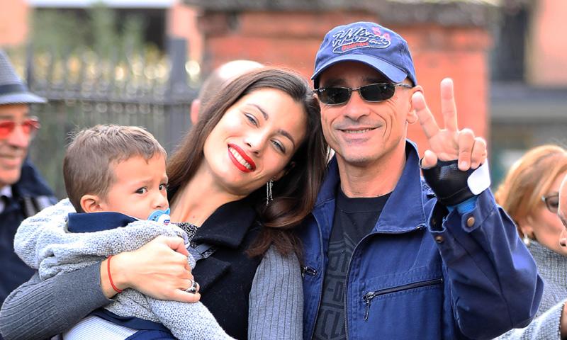 ¡Dos años! Eros Ramazzotti celebra en familia el cumple de su hijo pequeño