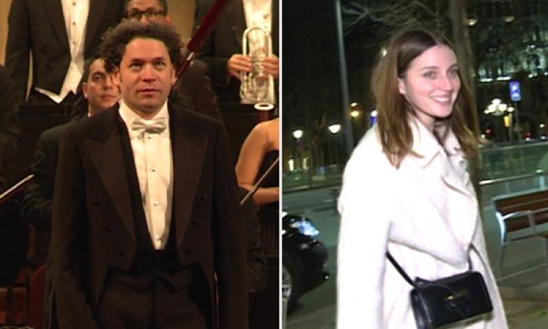 María Valverde y Gustavo Dudamel, en España por primera vez tras su boda sorpresa
