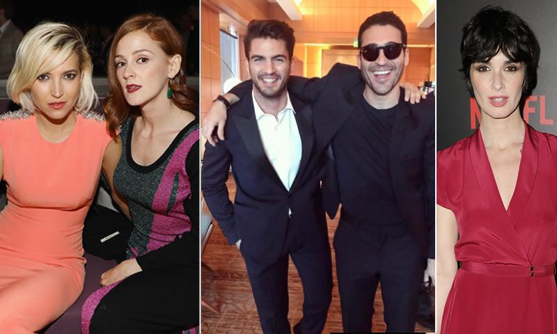 Maxi Iglesias lleva a su 'troupe' española al estreno de su serie 'Ingobernable' en Miami