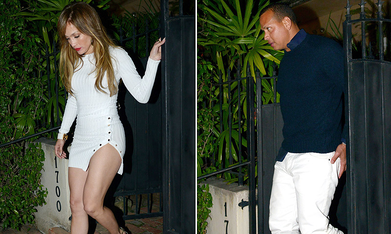 Jennifer López y las curvas que han vuelto 'loco' a Alex Rodríguez