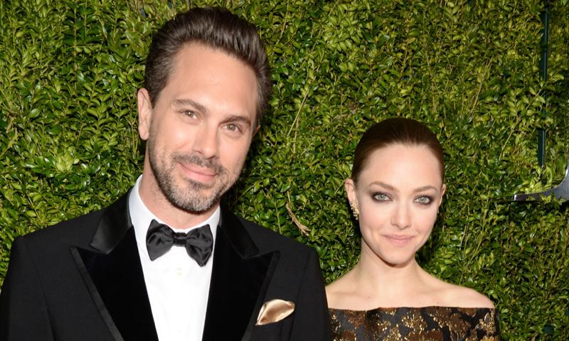 A punto de convertirse en papás, Amanda Seyfried y Thomas Sadoski se 'fugan' para casarse en secreto