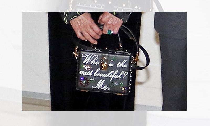 ¿De quién es este bolso tan original?