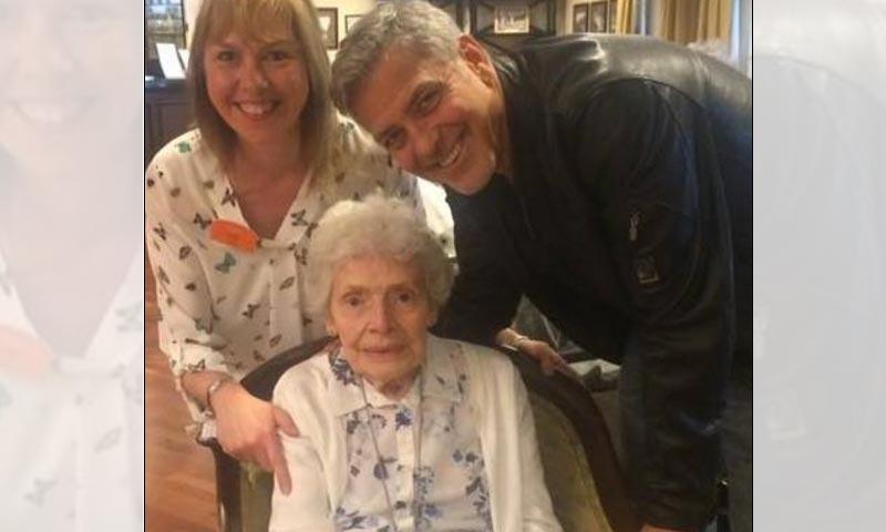 ¡Un sueño hecho realidad! La inesperada sorpresa de George Clooney a una de sus fans