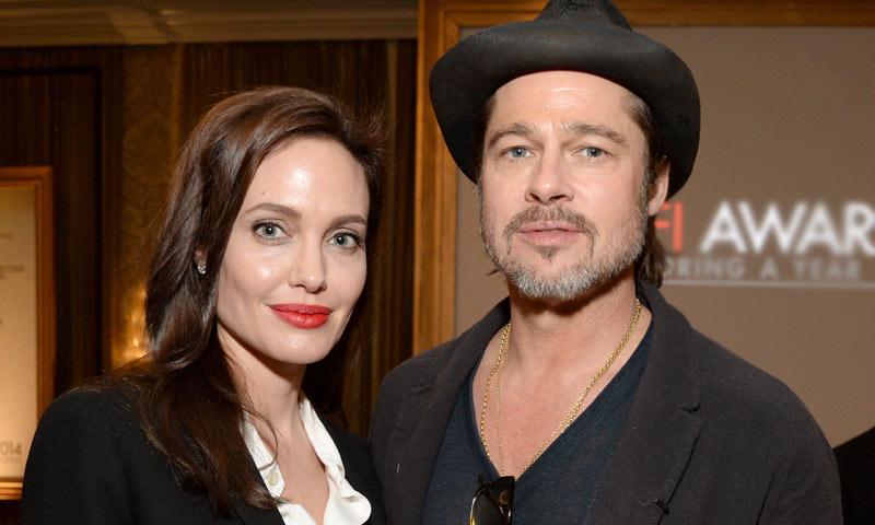 Y después de la tormenta... Angelina Jolie y Brad Pitt retoman el contacto