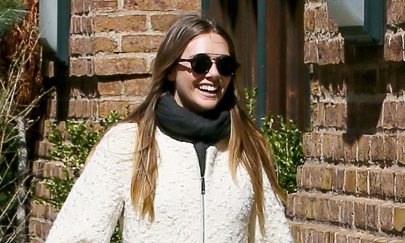Elizabeth Olsen se vuelve a enamorar. ¿Quién es el culpable de su sonrisa?