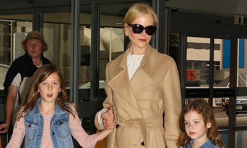 ¡Cómo han crecido! Las hijas de Nicole Kidman cada vez más parecidas a…