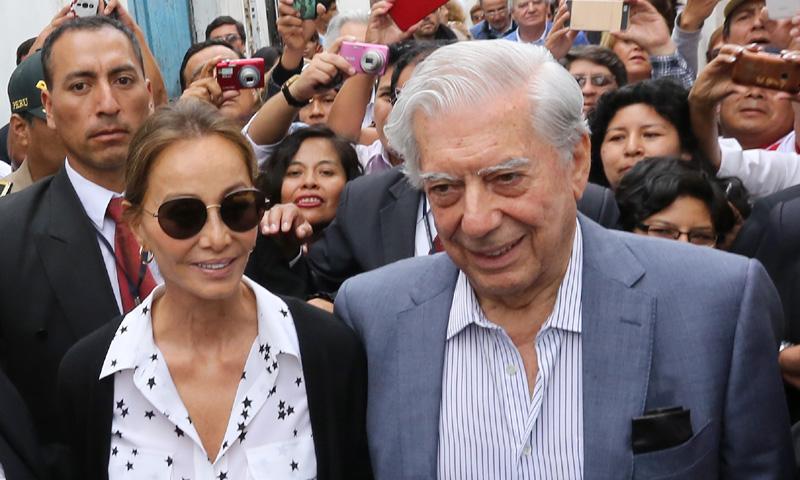 Mario Vargas Llosa cumple 81 años en Perú junto a Isabel Preysler