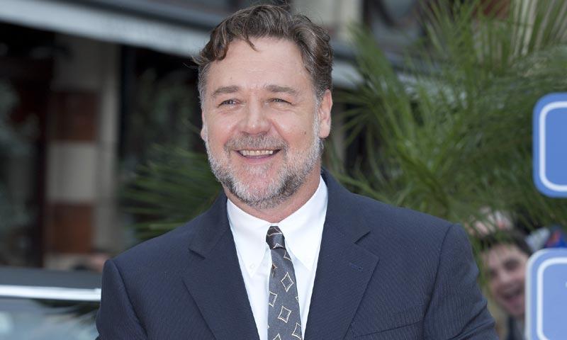 Russell Crowe... ¡vaya cambio!