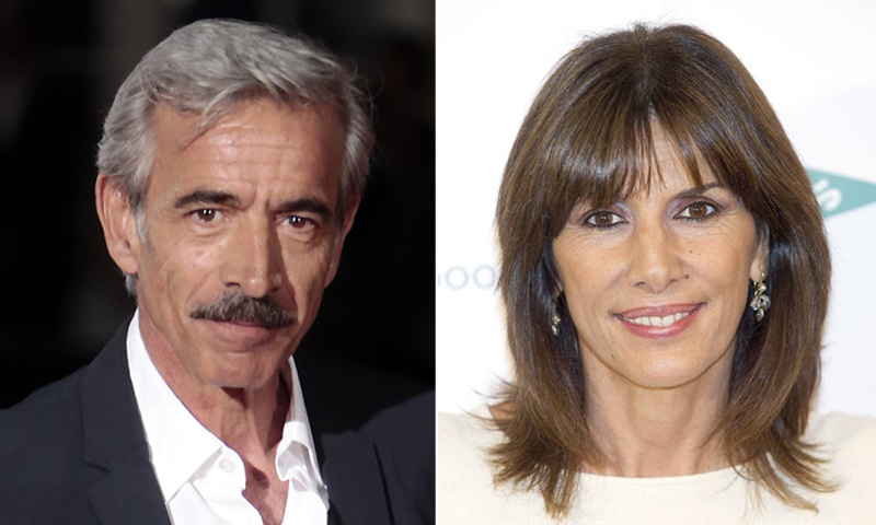 En ¡HOLA!, Imanol Arias y su exmujer Pastora Vega, juntos en el treinta cumpleaños de Jon, su atractivo hijo mayor