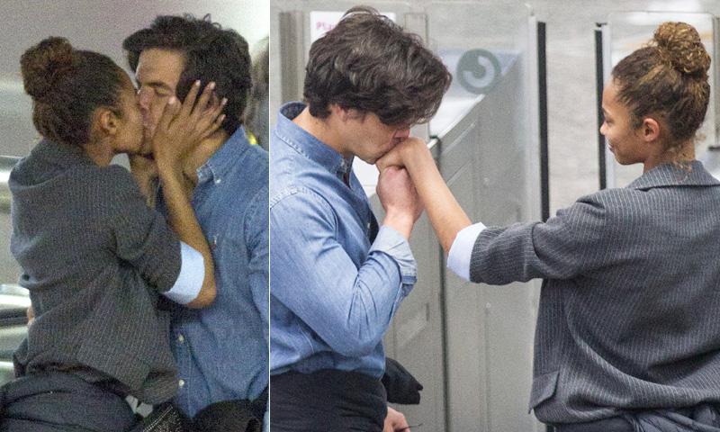 ¡Besos y más besos! Las fotos más apasionadas de Berta Vázquez con su nuevo amor